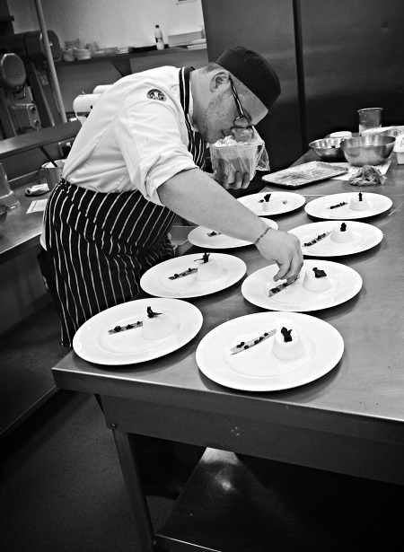 Coup de pates Young Chef Ambassador Thomas Leatherbarrow