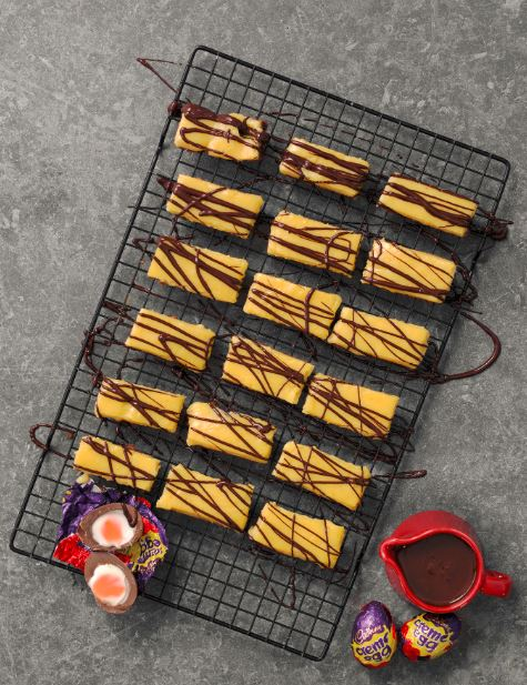 Creme Egg Bars With a Zesty Twist