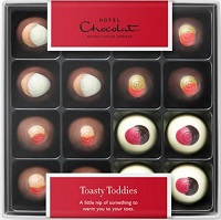 Toasty Toddies chocolates from Hotel Chocolat