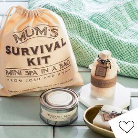 Personalised 'Mum's Mini Spa In A Bag' Survival Kit