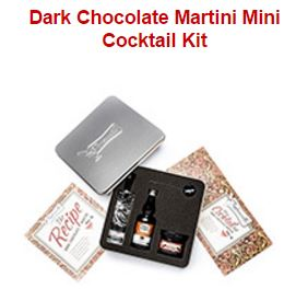 Dark Chocolate Martini Mini Cocktail Kit