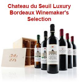 Chateau du Seuil Luxury Bordeaux Winemaker's Selection