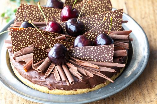 chococo Black Forest Ganache Tart