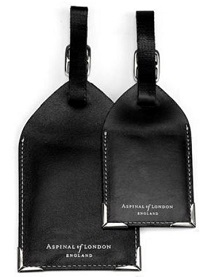 harrods Aspinal luggage tags