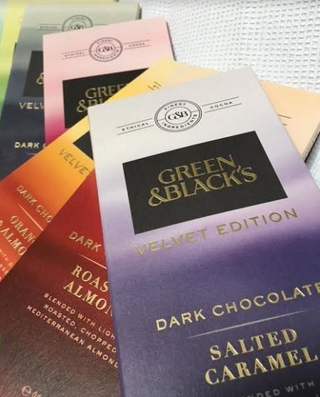 Velvet Edition from Green & Blacks – The Collection Reviewed