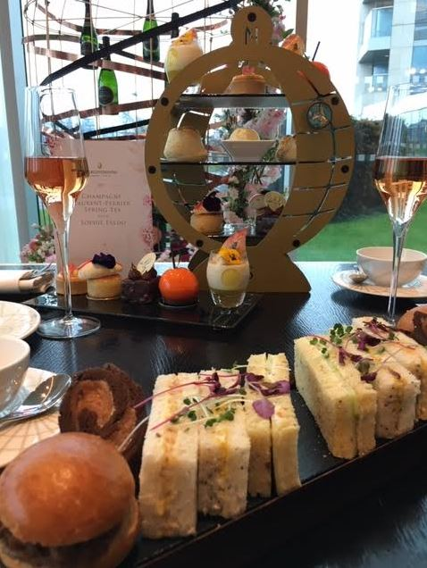 Spring Tea by Sophie Faldo with Laurent Perrier - #GBBO Winner