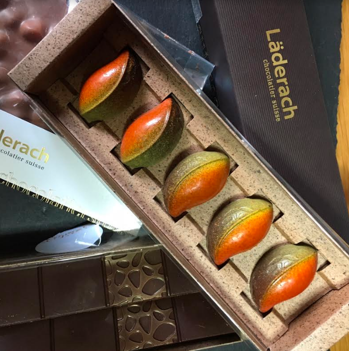 Laderach chocolate