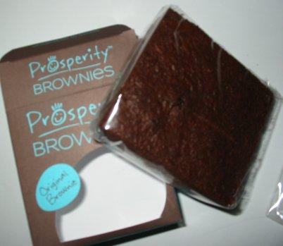 Prosperity Chocolate Brownie