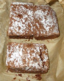 gower cottage chocolate brownies