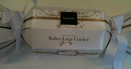 hotel chocolat rather large cracker