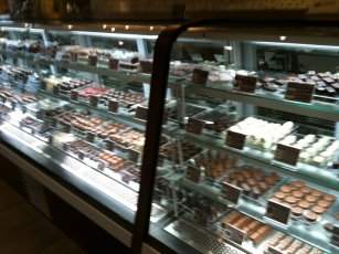 Dahso chocolates nside