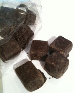 divine dark chocolate sea salt fudge