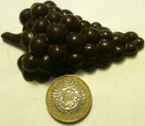 paul a young chateau civrac chocolate wine grapes with coin