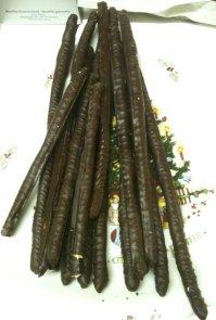 chocolate coated breadstrcks