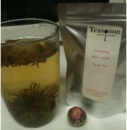 flowering red lychee tea