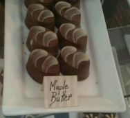 maple butter chocolates