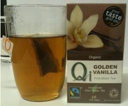 qi golden vanilla tea