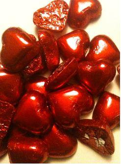 divine dark chocolate hearts