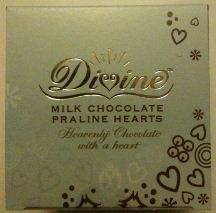 divine praline hearts box