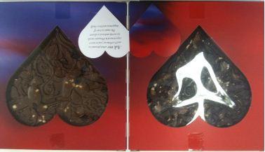 hotel chocolat love book open