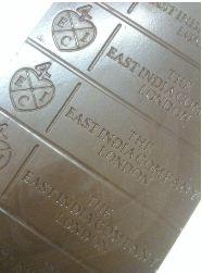 EIC cinnamon leaf chocolate bar