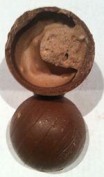 coffee crisp easter egg open