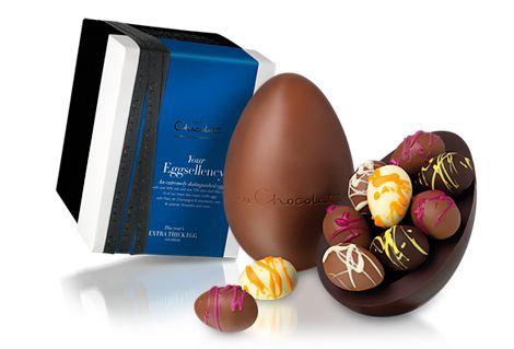 hc eggselency chocolate easter egg