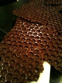 chocolate bubble wrap