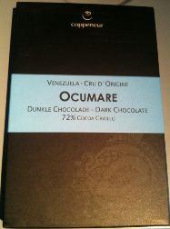 ocumare chocolate bar wrapper
