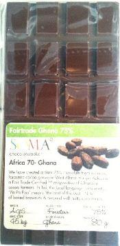 soma africa ghana chocolate bar in wrapper