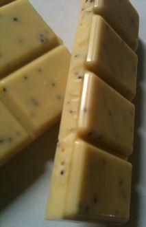 Seed Bean Lemon Poppy Seeds White Chocolate