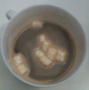 fortnum & mason hot choc with marshmallows