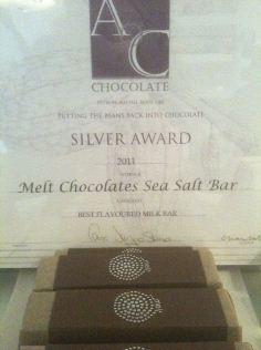 melt sea salt caramel bar