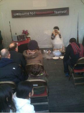 tea and coffee festival ritual