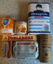 toblerone cupcakes ingredients