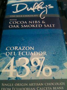 duffys smoked sea salt bar