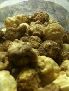 Triple Chocolate popcorn