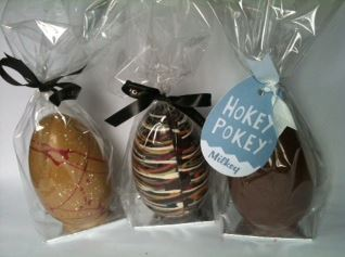 Chocolate Society Easter Eggs Reviewed – Dark, Hokey Pokey and Dulcey