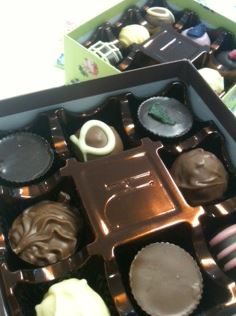 holdsworth chocolate box inside