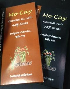 mo cay chocolate bars
