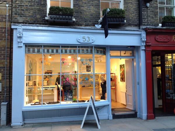 divine popup shop 2014
