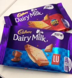 cadbury and biscuit