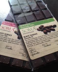 SOMA ocumare and grenada bars