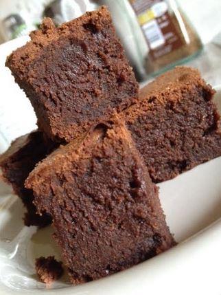 gooey fudgy deeply chocolaty brownies