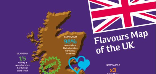 Cadbury Flavours - CLICK IMAGE to see full map
