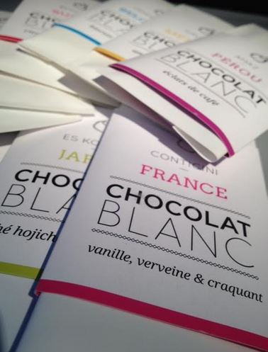 Les Patisseries des Reves White Chocolate Global Collection