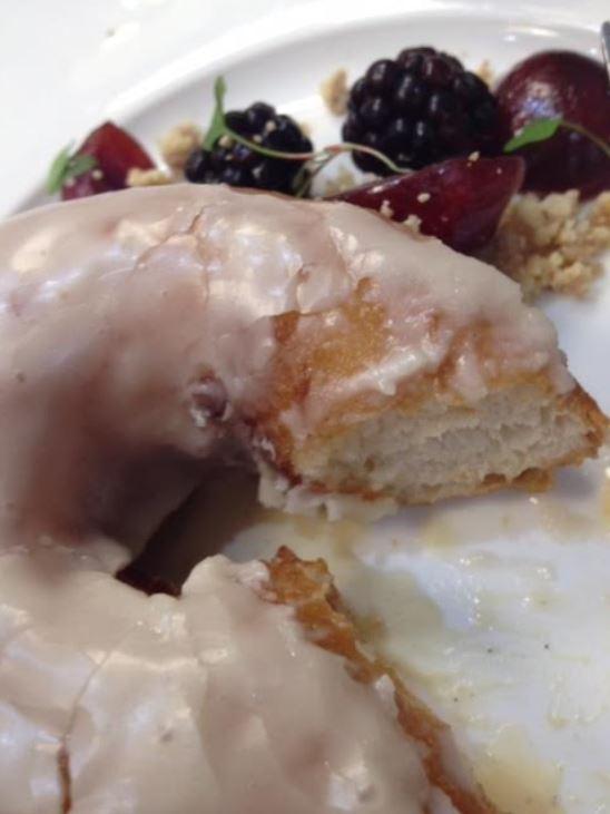 canadian maple doughnut